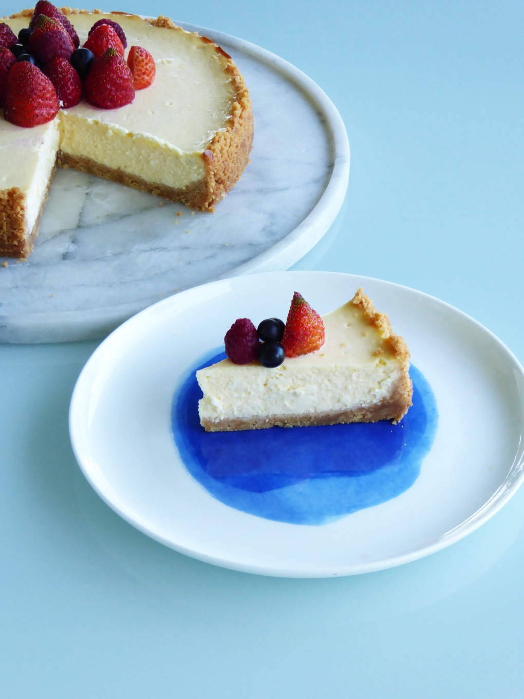 Baked cheesecake 6